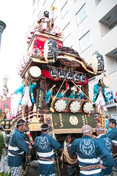 熊谷うちわ祭り 第壱本町